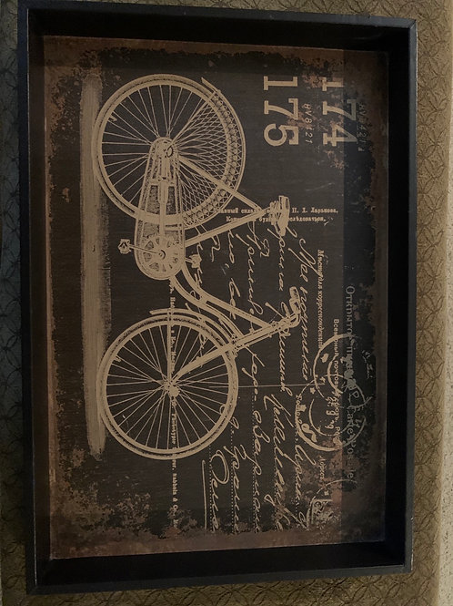 """Bicycle Tray 21"""" X 14 1/2"""""""