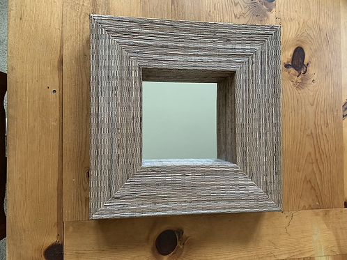 Crate and Barrel Woven Mirror