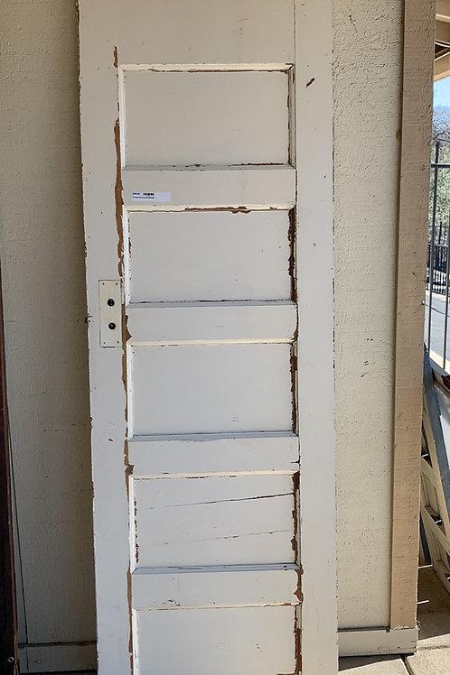 """Chippy 5 Panel Door It's 26"""" x 80"""""""