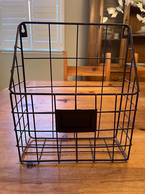 Metal Wall Hanging Basket
