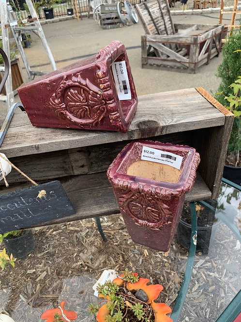 Beautiful Burgandy Planter