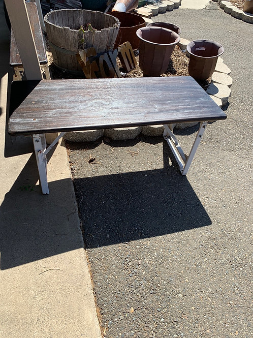Sale saleFarmhouse Industrial  Table Collapsible