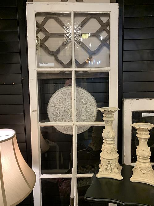 "Vintage 10 Panel Window 2' Wide X  80"" Tall"