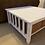 "Thumbnail: SALE    Lightly Distressed Farmhouse Coffee Table 36"" X 36"" X 18"""