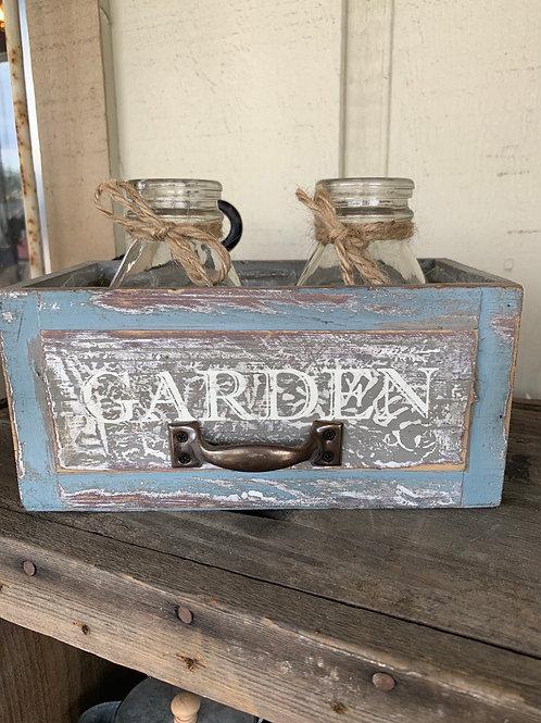 Little Garden Box W/ Jars