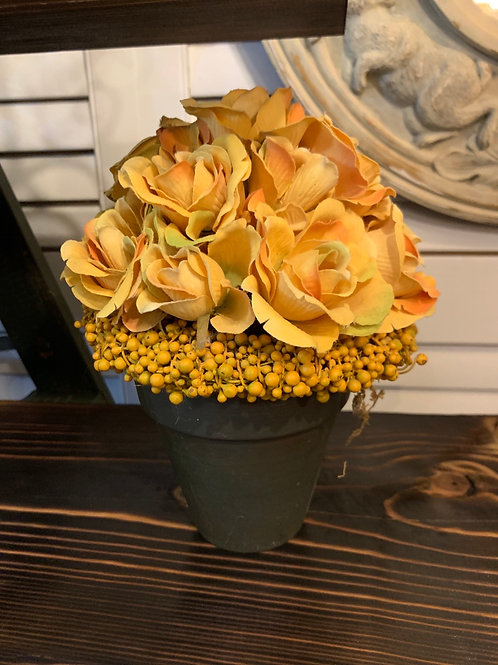 Beautiful Yellow Roses Flower Arrangement