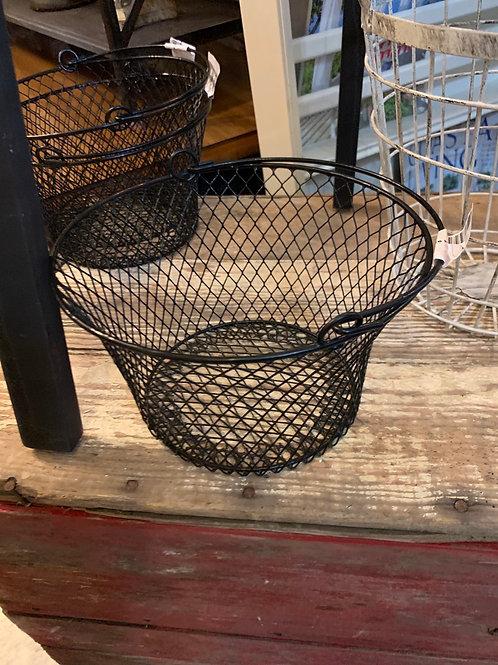 Black  Handled Basket