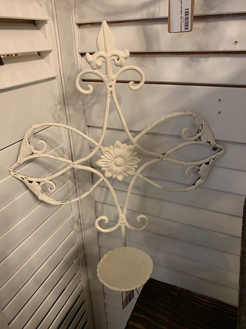 Shabby Chic Wall  Candle Holder