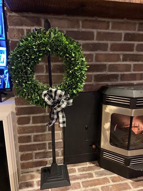 Fleur De Lis Wreath Holder