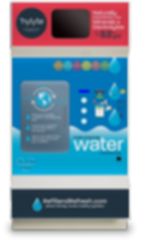 hylyte branded WaterStation water refill station
