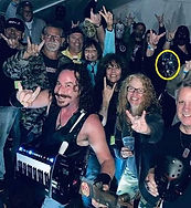 Throwing up the horns with Heavy Metal l