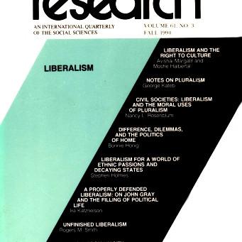 LIBERALISM / Vol. 61, No. 3 (Fall 1994)