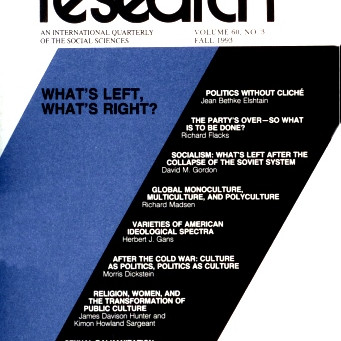 WHAT'S LEFT, WHAT'S RIGHT? / Vol. 60, No. 3 (Fall 1993)