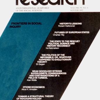 FRONTIERS IN SOCIAL INQUIRY / Vol. 59, No. 4 (Winter 1992)