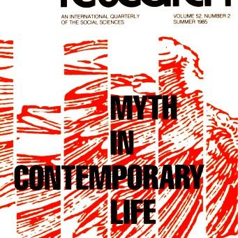MYTH IN CONTEMPORARY LIFE / Vol. 52, No. 2 (Summer 1985)