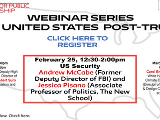 WEBINAR SERIES: THE UNITED STATES POST-TRUMP