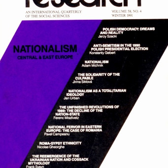 NATIONALISM: Central and East Europe / Vol. 58, No. 4 (Winter 1991)