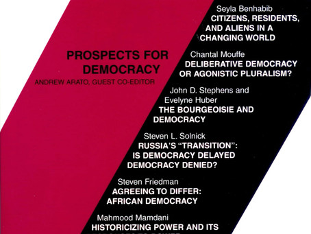 PROSPECTS FOR DEMOCRACY / Vol. 66, No. 3 (Fall 1999)