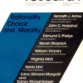 RATIONALITY, CHOICE, AND MORALITY / Vol. 44, No. 4 (Winter 1977)