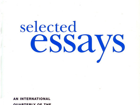 SELECTED ESSAYS / Vol. 70, No. 2 (Summer 2003)