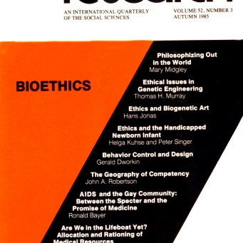 BIOETHICS / Vol. 52, No. 3 (Fall 1985)
