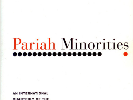 PARIAH MINORITIES / Vol. 70, No. 1 (Spring 2003)