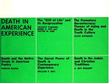 DEATH IN AMERICAN EXPERIENCE / Vol. 39, No. 3 (Fall 1972)