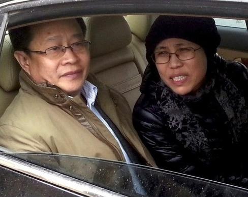 Liu Hui and Liu Xia. Photo Credit: RFI.