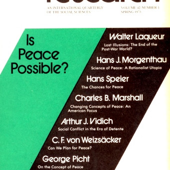 IS PEACE POSSIBLE? / Vol. 42, No. 1 (Spring 1975)