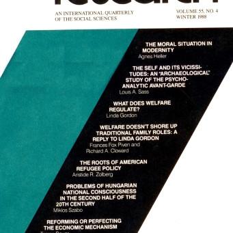 NONTHEMATIC / Vol. 55, No. 4 (Winter 1988)