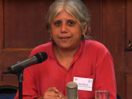Indian Social Activist Bela Bhatia Threatened