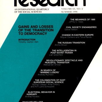 GAINS AND LOSSES OF THE TRANSITION TO DEMOCRACY / Vol. 63, No. 2 (Summer 1996)