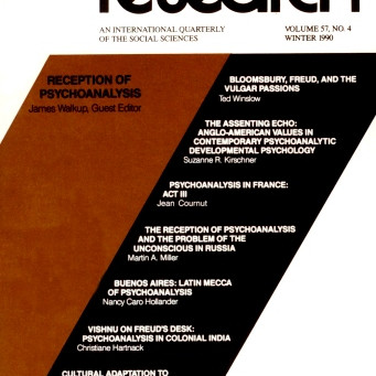 RECEPTION OF PSYCHOANALYSIS / Vol. 57, No. 4 (Winter 1990)