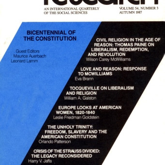 BICENTENNIAL OF THE CONSTITUTION / Vol. 54, No. 3 (Fall 1987)