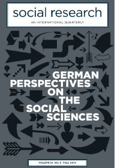GERMAN PERSPECTIVES ON THE SOCIAL SCIENCES / Vol. 81, No. 3 (Fall 2014)