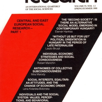 CENTRAL AND EAST EUROPEAN SOCIAL RESEARCH: Part II / Vol. 55, No. 2 (Summer 1988)