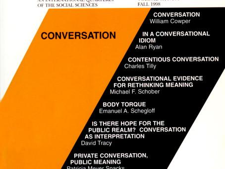 CONVERSATION / Vol. 65, No. 3 (Fall 1998)