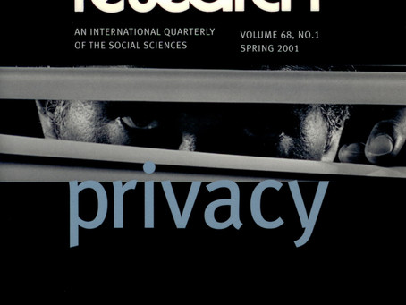 PRIVACY / Vol. 68, No. 1 (Spring 2001)