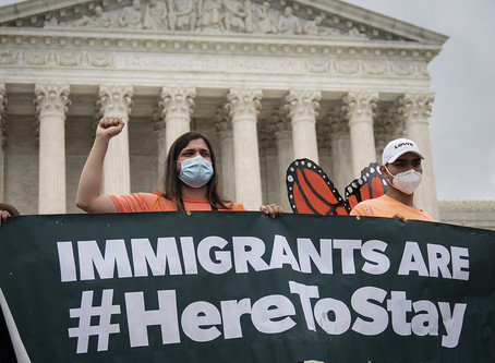US Supreme Court Rules against Trump Administration in Decision to end DACA
