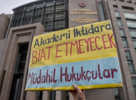 Turkish Prosecutor Demands 7.5 Years for 32 Peace Academics