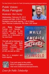 Public Voices: Russ Feingold