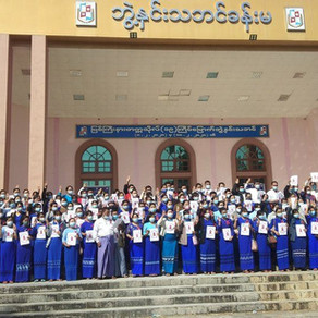 Students Take a Leading Role in Protests against the Coup in Myanmar
