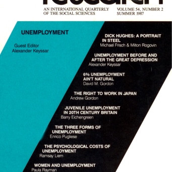 UNEMPLOYMENT / Vol. 54, No. 2 (Summer 1987)