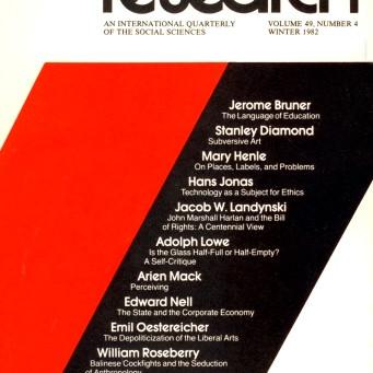 NONTHEMATIC / Vol. 49, No. 4 (Winter 1982)
