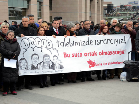 Academic Purge in Turkey Continues