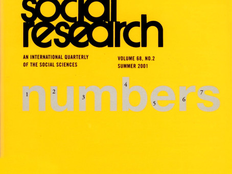 NUMBERS / Vol. 68, No. 2 (Summer 2001)