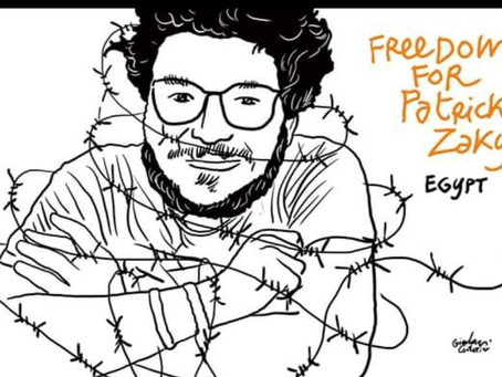 Egyptian Court Extends Arbitrary Detention of University of Bologna Student Patrick George Zaki Agai