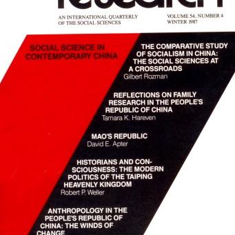 SOCIAL SCIENCE IN CONTEMPORARY CHINA / Vol. 54, No. 4 (Winter 1987)