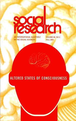 ALTERED STATES OF CONSCIOUSNESS / Vol  68, No  3 (Fall 2001)