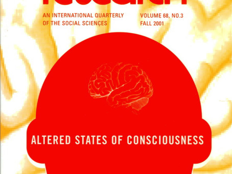 ALTERED STATES OF CONSCIOUSNESS / Vol. 68, No. 3 (Fall 2001)